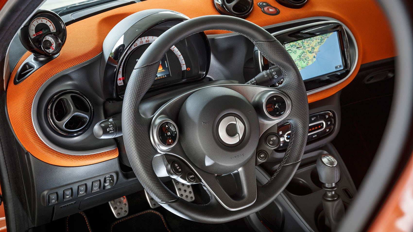 smart forfour 1 0 2015 review by car magazine. Black Bedroom Furniture Sets. Home Design Ideas