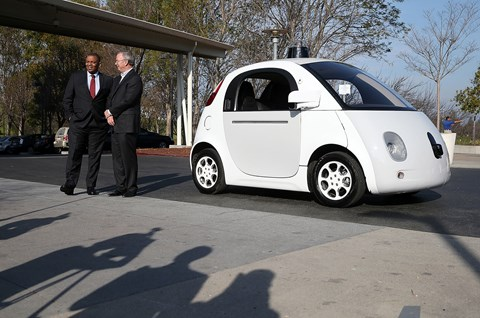 Google's own in-house autonomous car prototype (Getty Images)
