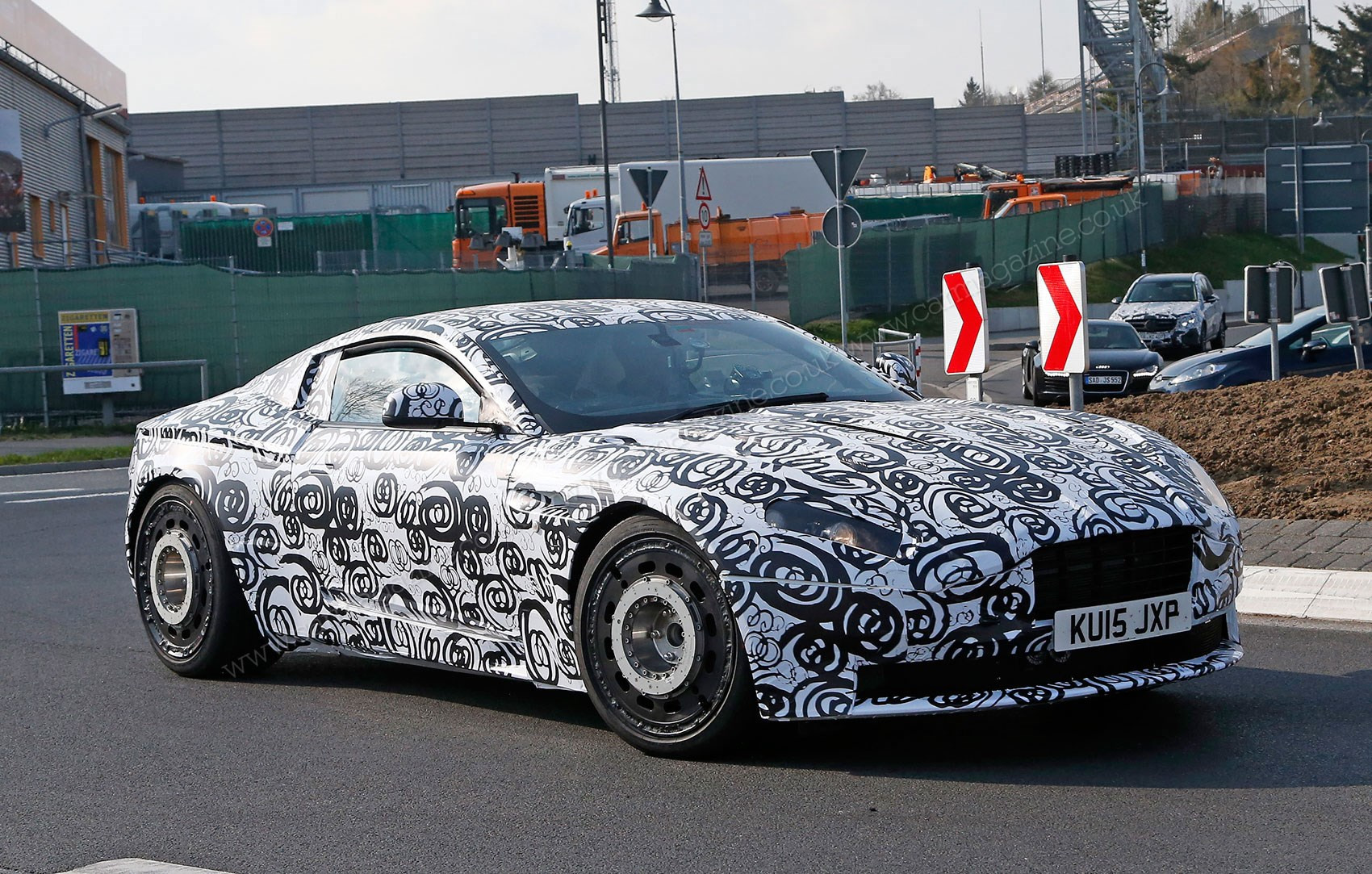 Inside An Aston Martin Db11 Prototype Test Drivers