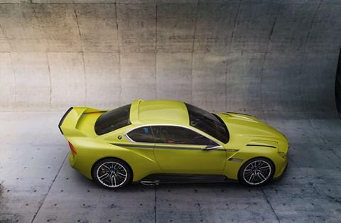 BMW 3.0 CSL Hommage concept at Villa d'Este