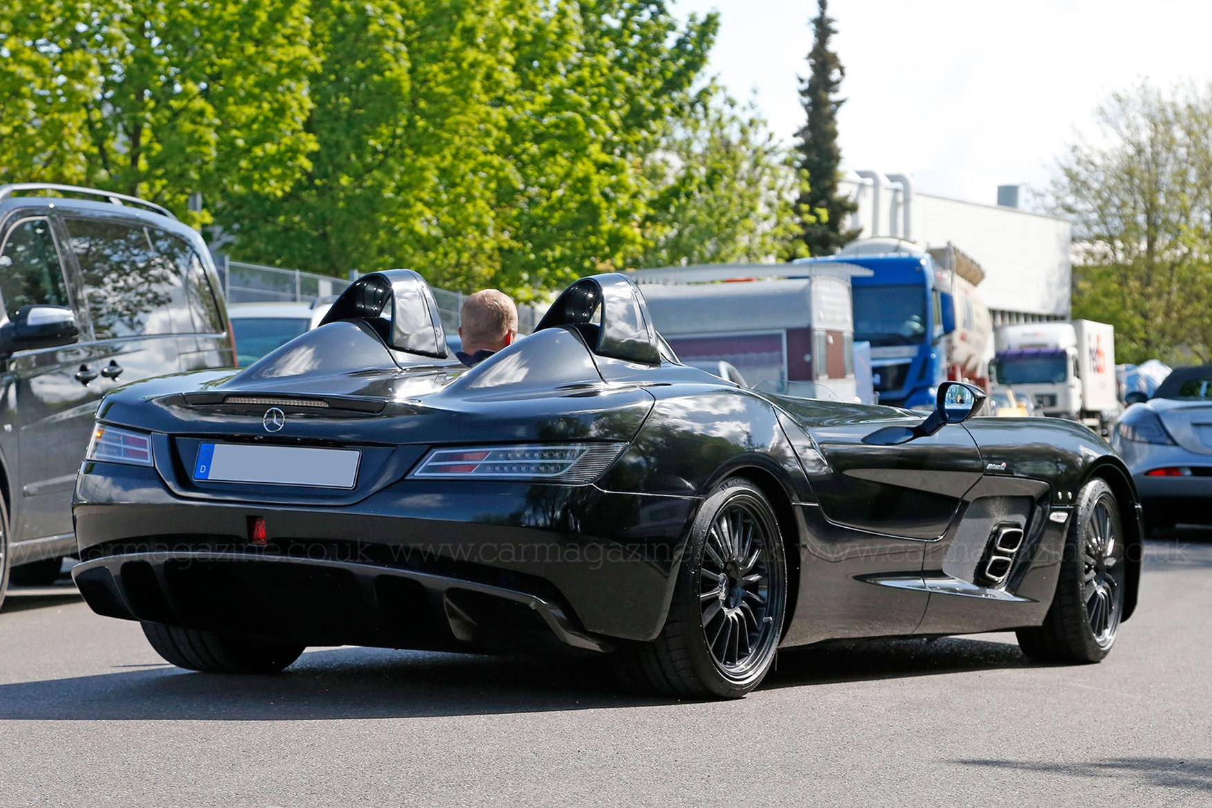 ... The Mercedes SLR Stirling Moss Cost £660,000 New ...