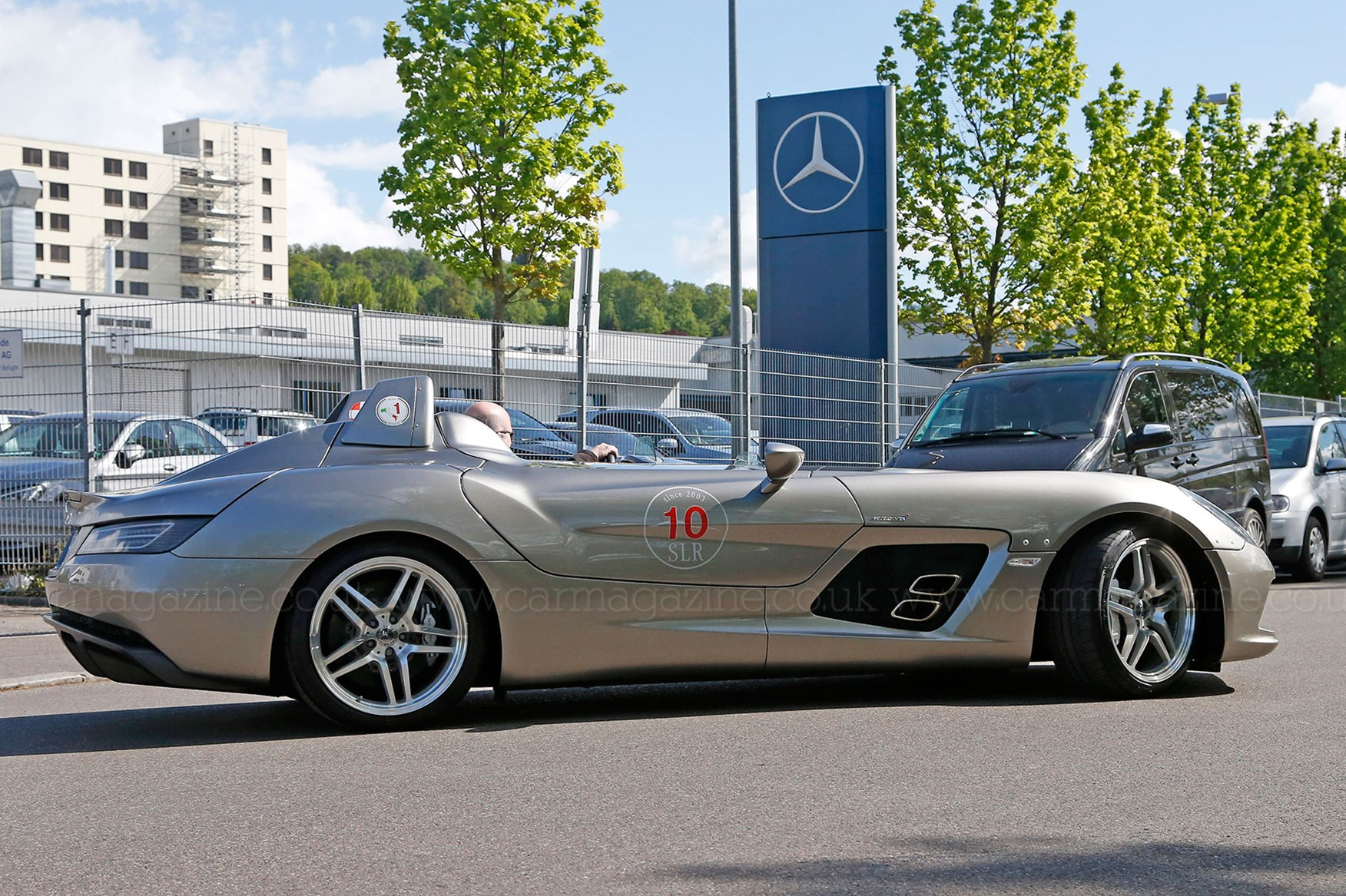 Spotted World S Most Expensive Mercedes Road Trip Car
