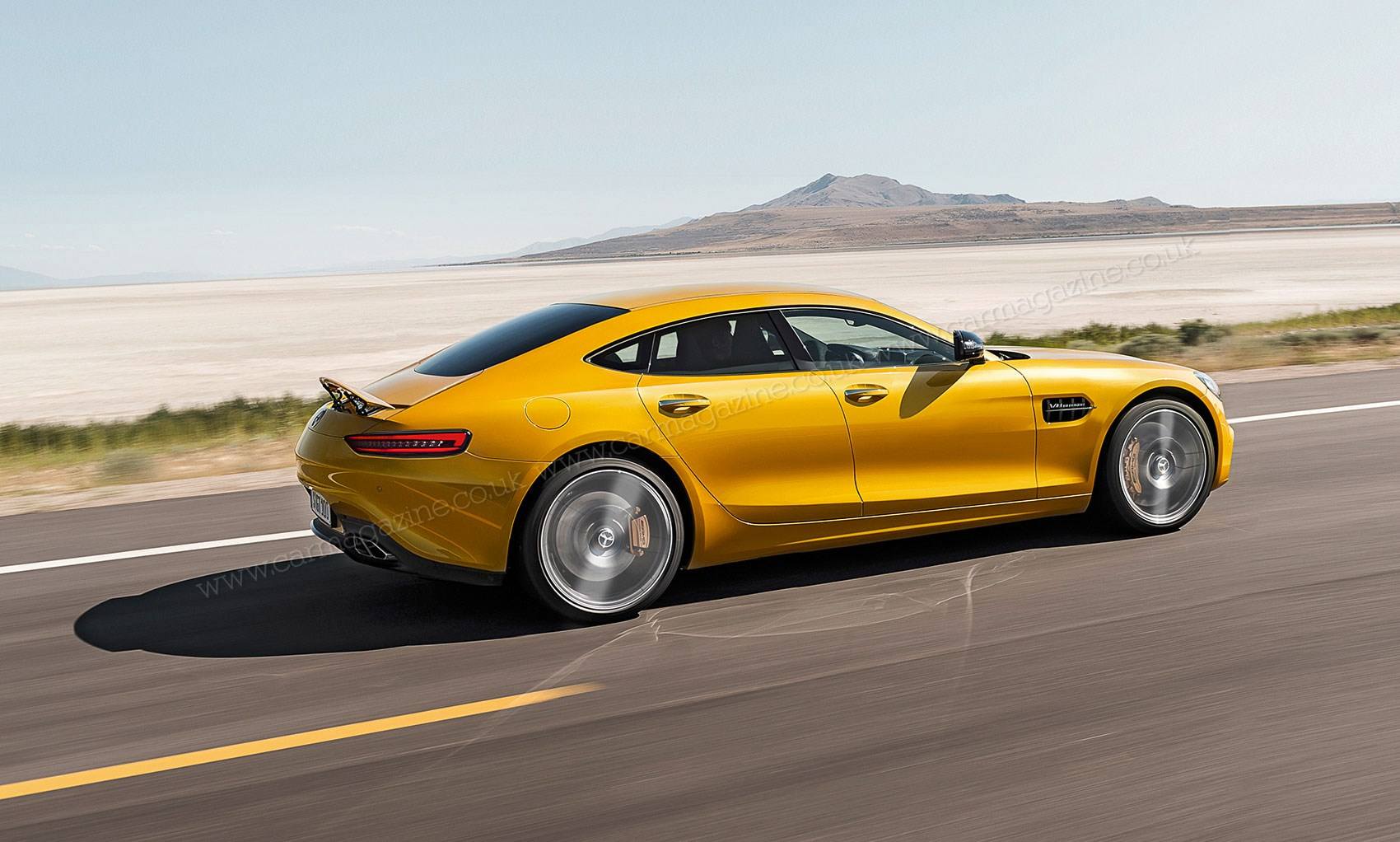 Mercedes Amg Gt4 2019 Merc S Panamera And 6 Series