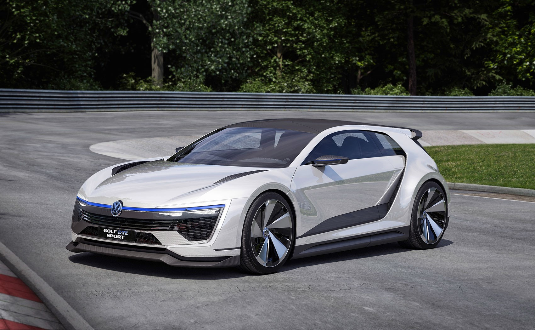 vw golf gte sport the outrageous carbon bodied 400bhp. Black Bedroom Furniture Sets. Home Design Ideas
