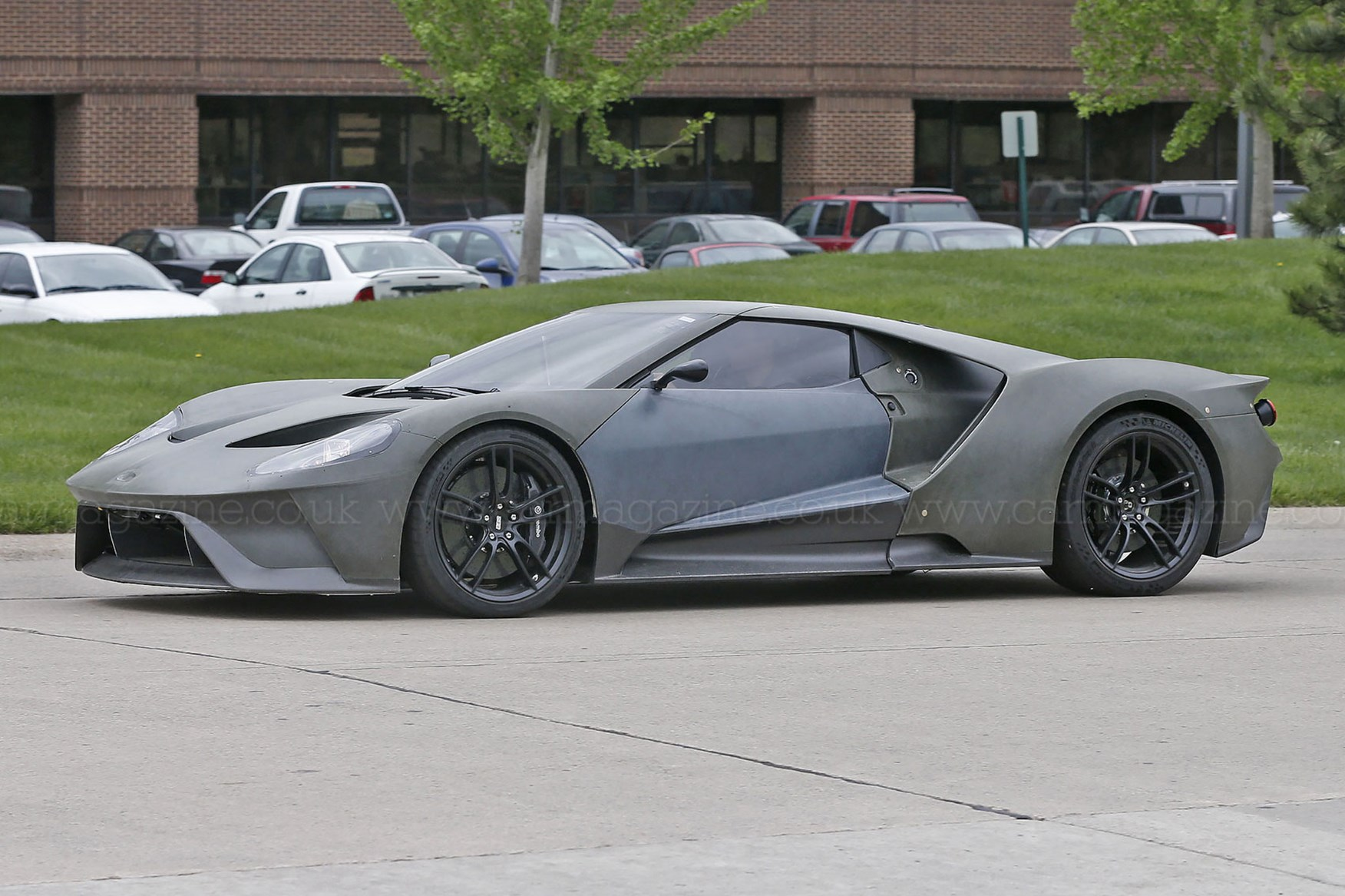 Ford Gt Wont Quite Be The  Inch Height Original But It Will Be Pretty Low Nonetheless