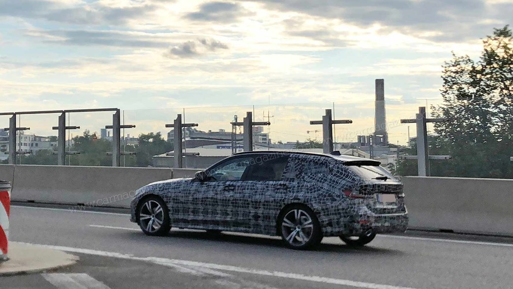 Spied Our Guy With The Long Lens Has Photographed 2019 BMW 3 Series