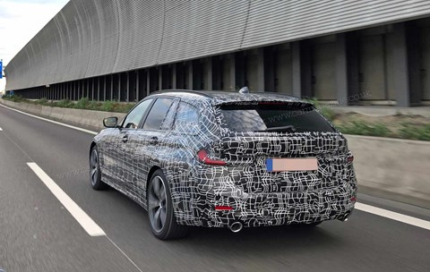 Spied! The new 2019 BMW 3-series Touring estate