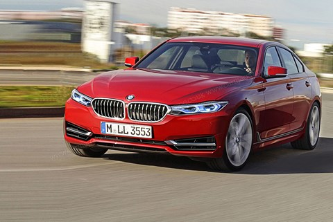 2018 BMW 3-series artist's impression