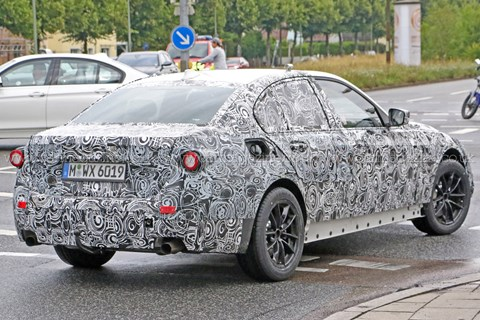 2016 BMW 3-series spy shots
