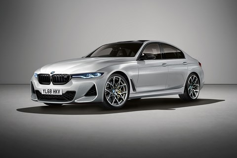 The new 2020 BMW M3, codenamed G80. CAR's artist's impression
