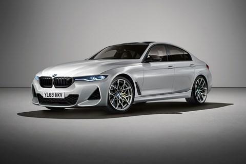 The new 2020 BMW M3, codenamed G80. CAR's artist's impression