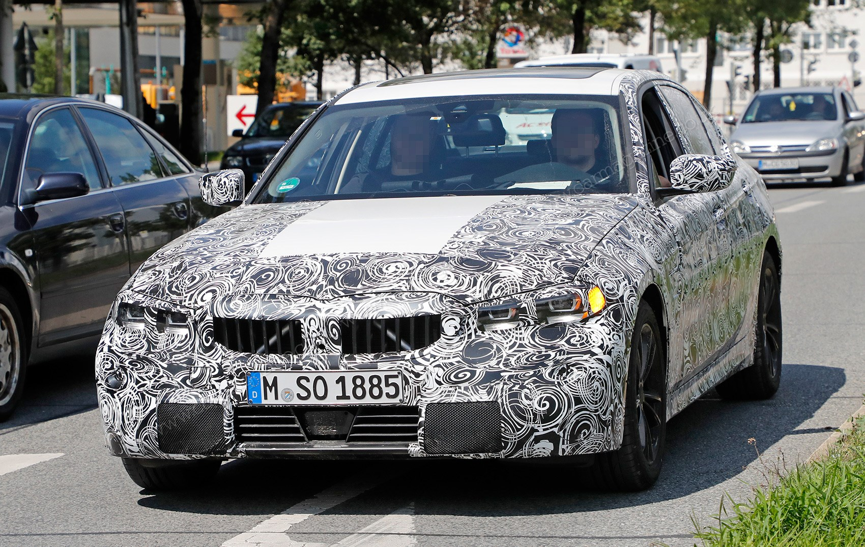 New Bmw 3 Series G20 Will Debut At Paris Motor Show Car Magazine