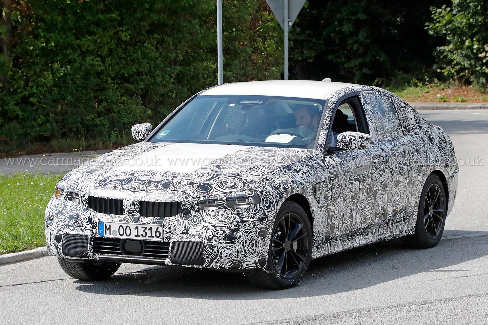Bmw 320i 2019 >> New BMW 3-series (G20): electrified variant spotted | CAR Magazine
