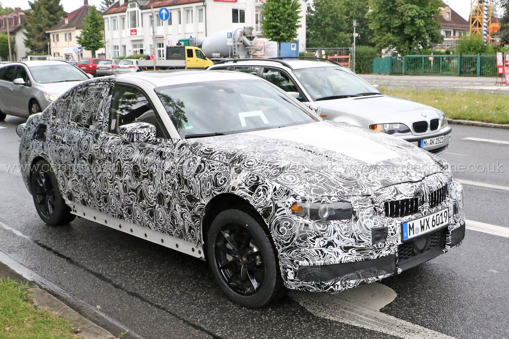 nouvelle bmw 2018. simple nouvelle 2016 bmw 3series spy shots throughout nouvelle bmw 2018