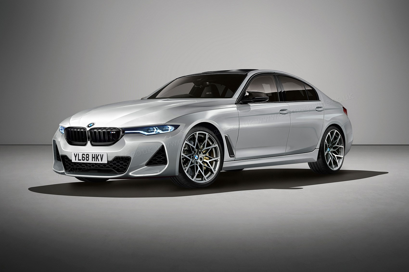 bmw 3 series 2018 next three codenamed g20 revealed by car magazine. Black Bedroom Furniture Sets. Home Design Ideas
