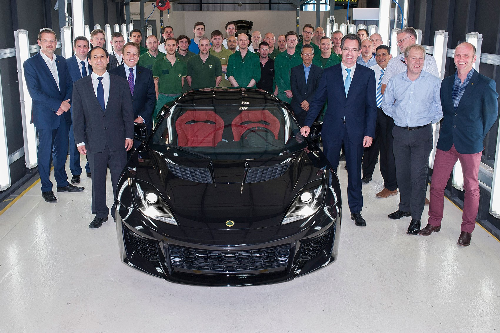 The 72 000 Lotus Evora 400 Is Here Production Starts