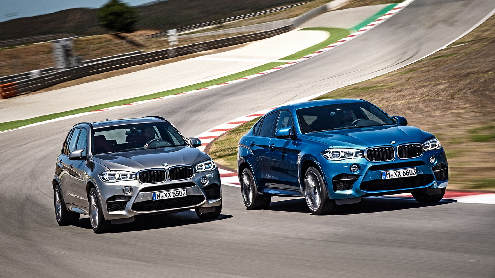 Superb ... Pick Your BMW X Models In Two Flavours: X5 (left) Or X6 (right) ...