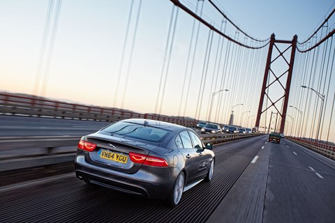 CAR magazine's 1351-mile test of the new Jaguar XE. Photography by John Wycherley