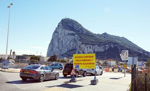 Jaguar XE to Gibraltar