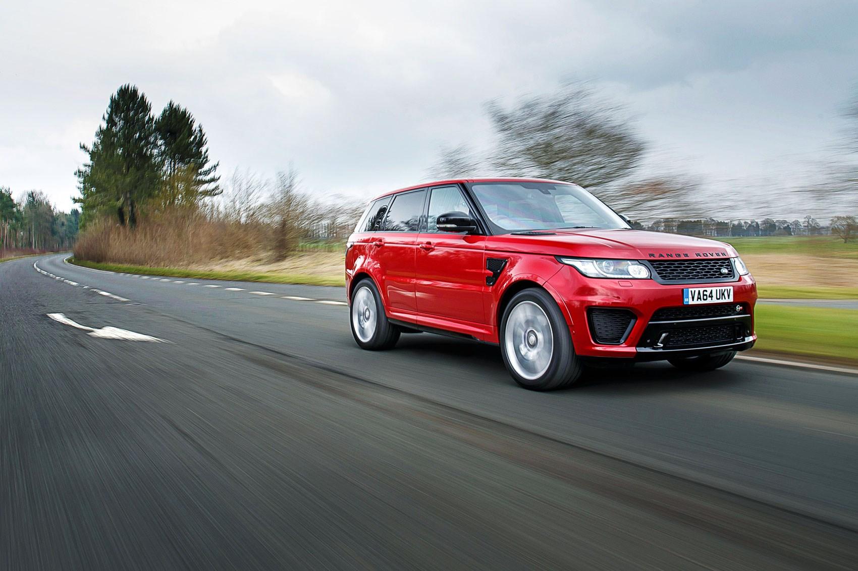Audi A3 Lease >> Range Rover Sport SVR (2015) review   CAR Magazine