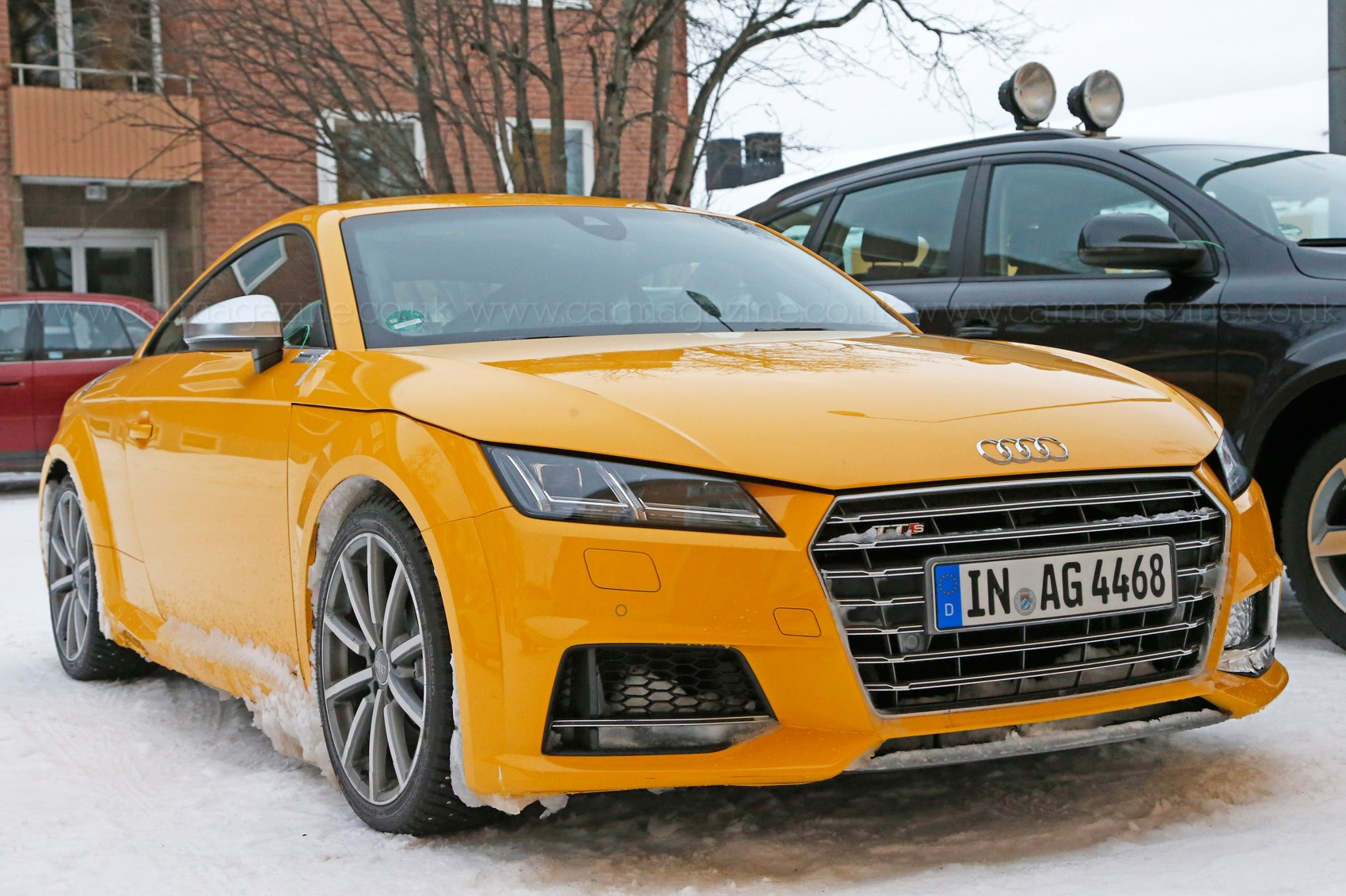 Audi Tt Rs 2016 To Be Available With A Manual Gearbox