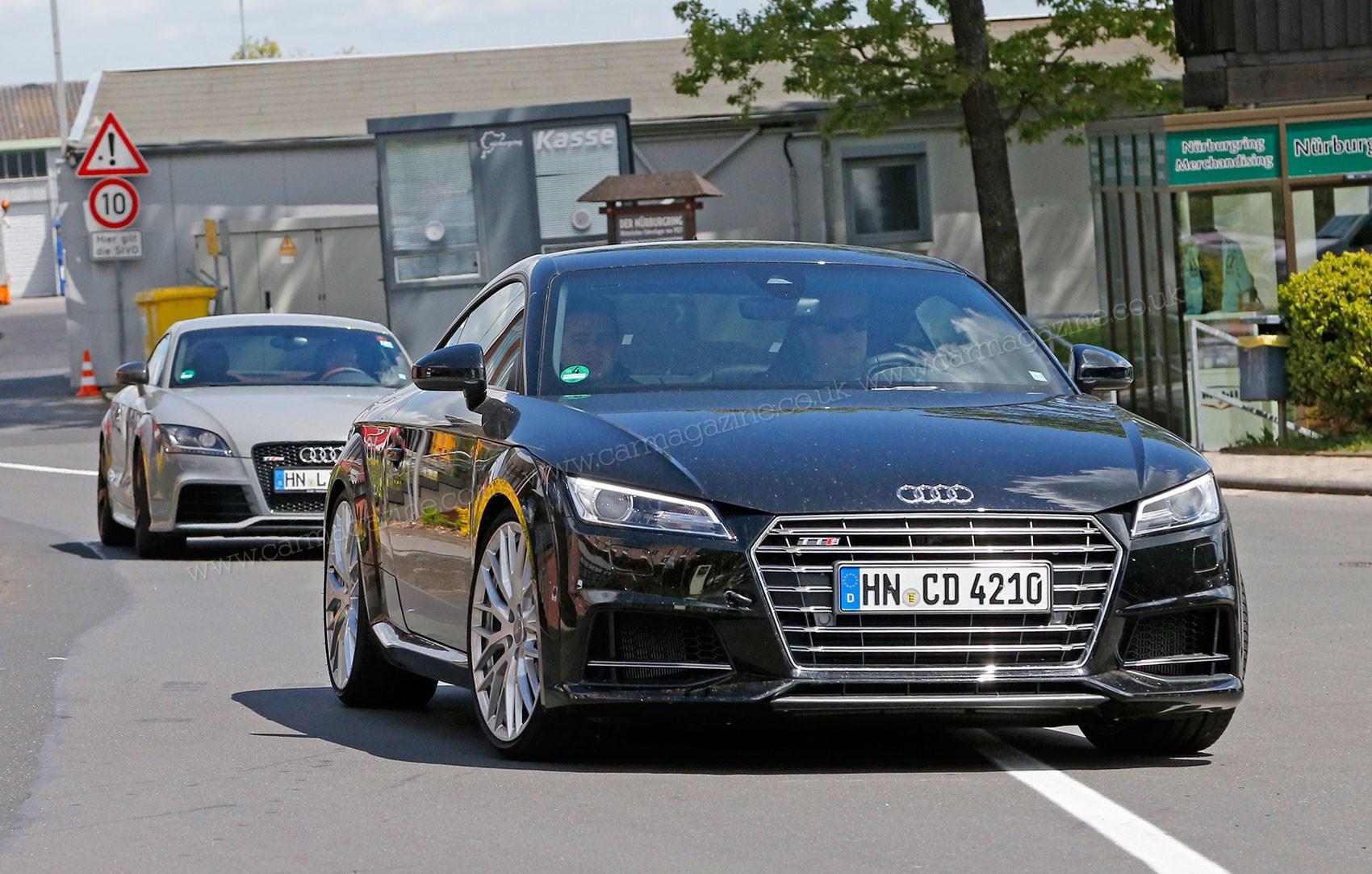 Our Spy Photos Capture A Brace Of Audi Tt Rses