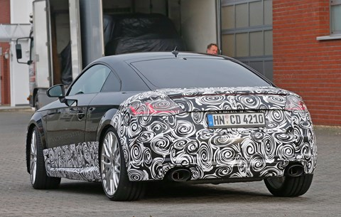 The new 2016 Audi TT RS: muscling into Porsche territory