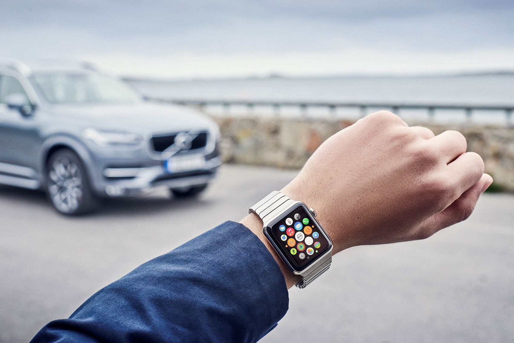 Volvo launches wearables app - unlock your XC90 from your iWatch