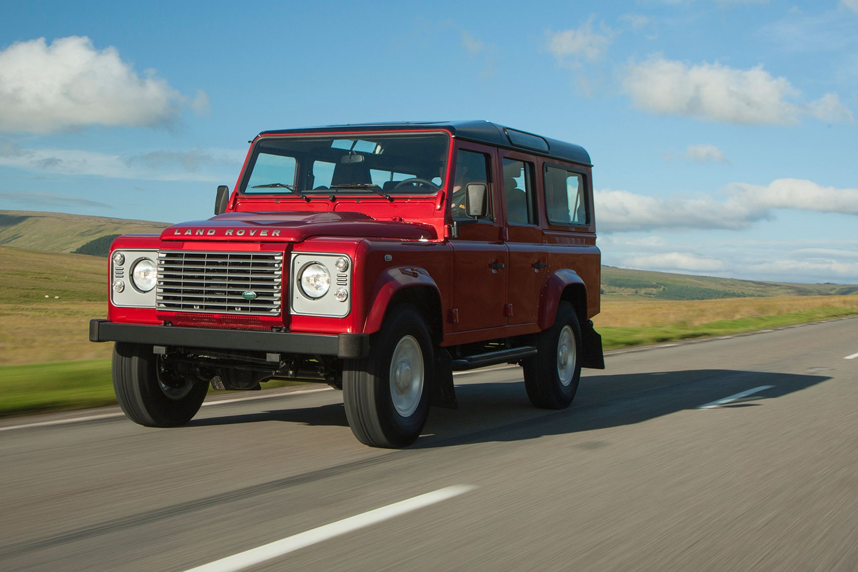 Land Rover Defender 110 Station Wagon Xs 2016 Review By