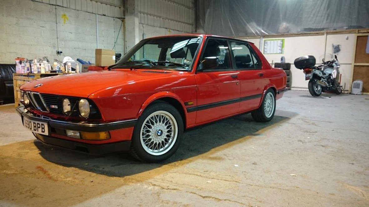 BMW M5 collection up for sale: seven fast Fives at auction ...