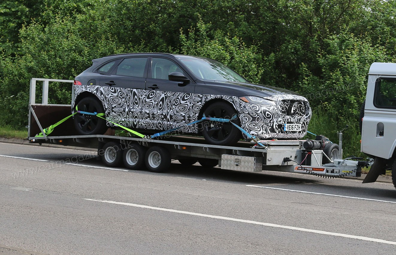 Is This Diesel Electric Hybrid A Testbed For New Jaguar J Pace