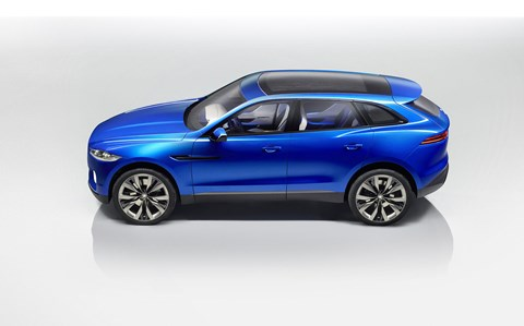 Jaguar F-Pace: the smaller SUV is based on C-X17 concept car (pictured)