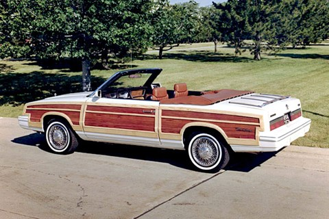 Lee Iacocca's 'ninth favourite car of all time', the woody convertible