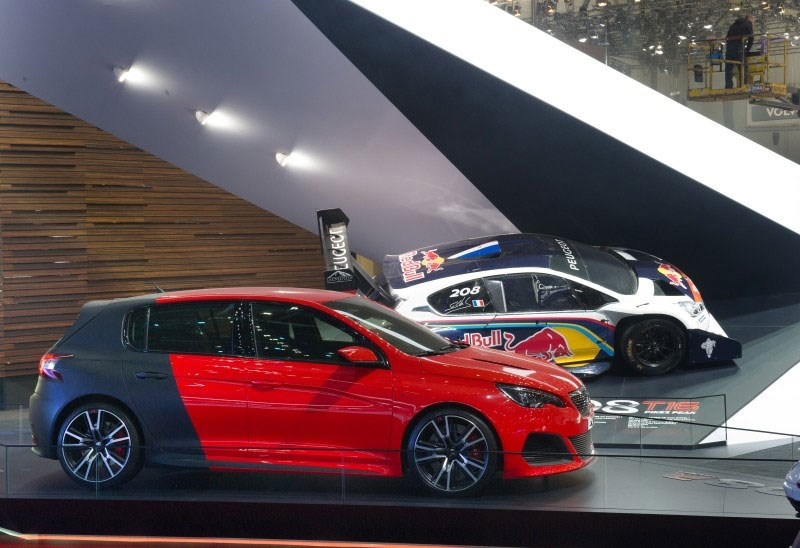 peugeot to show new 308 gti at goodwood festival of speed 2015