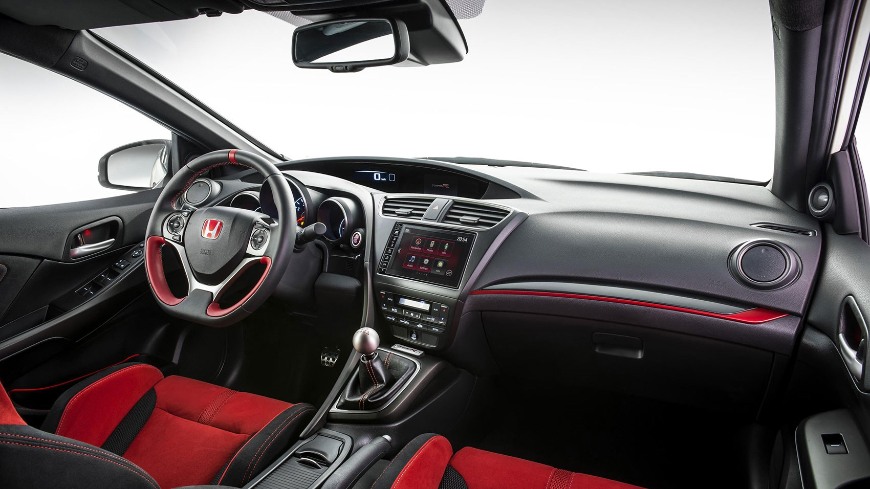 ... Cabin Of 2015 Civic Type R: Still A Bit Of A Mess ...