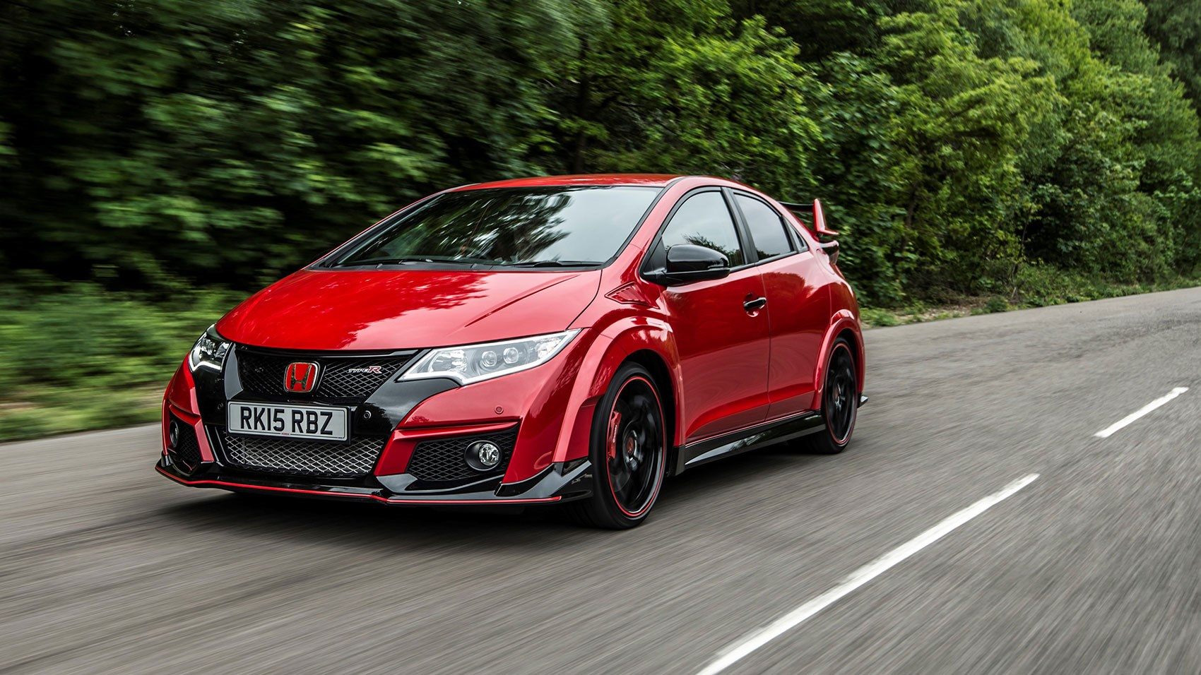 ... the Civic Type R is a highly biddable hot hatch ...