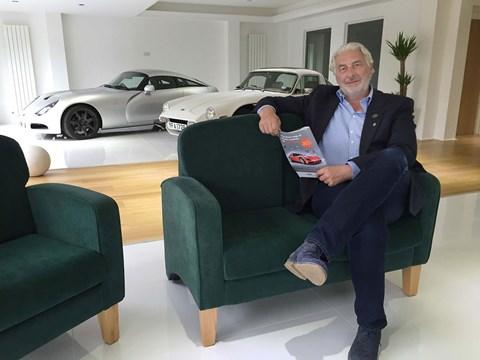 New TVR chairman Les Edgar
