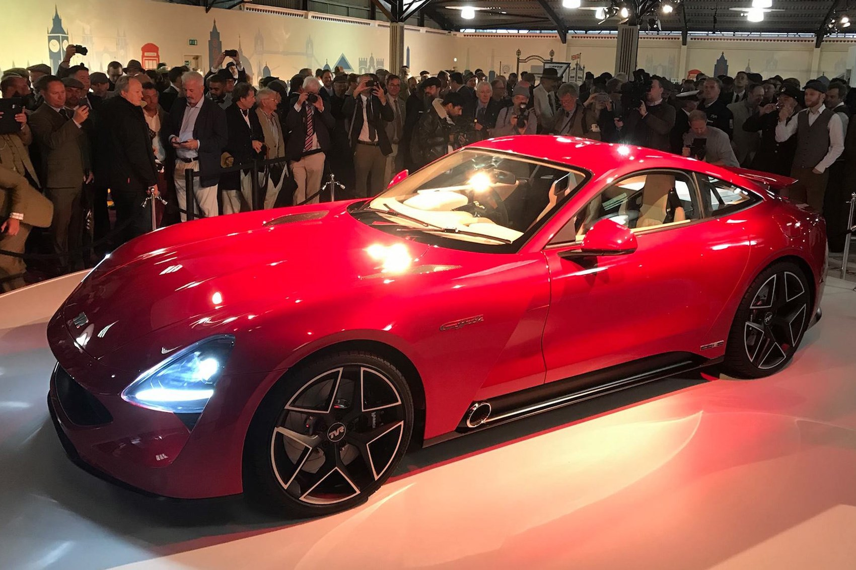 Photo Courtesy Of James Agger The New 2017 Tvr Sports Car Dripfeed Continues