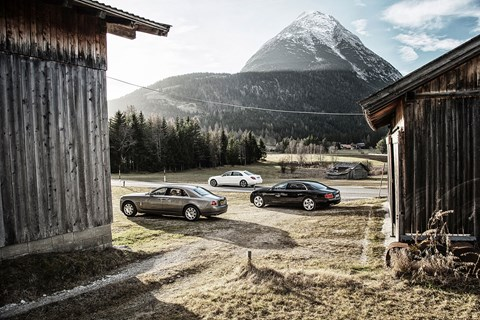 Three giants of luxury travel. Which would you choose?