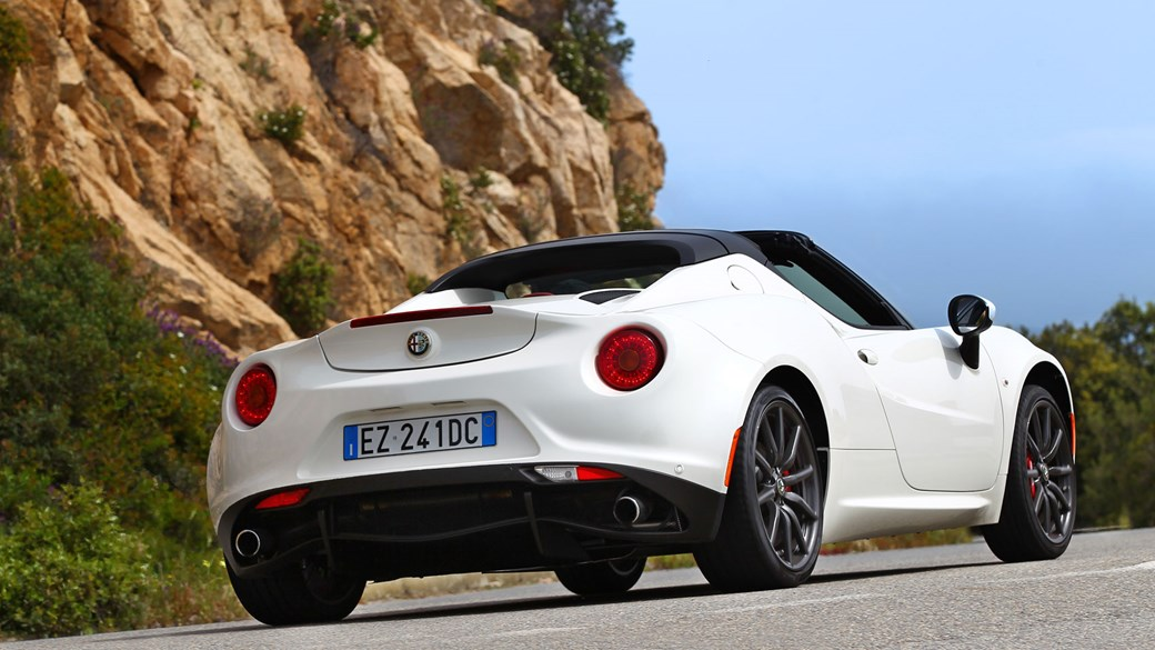 alfa romeo 4c spider (2015) review | car magazine