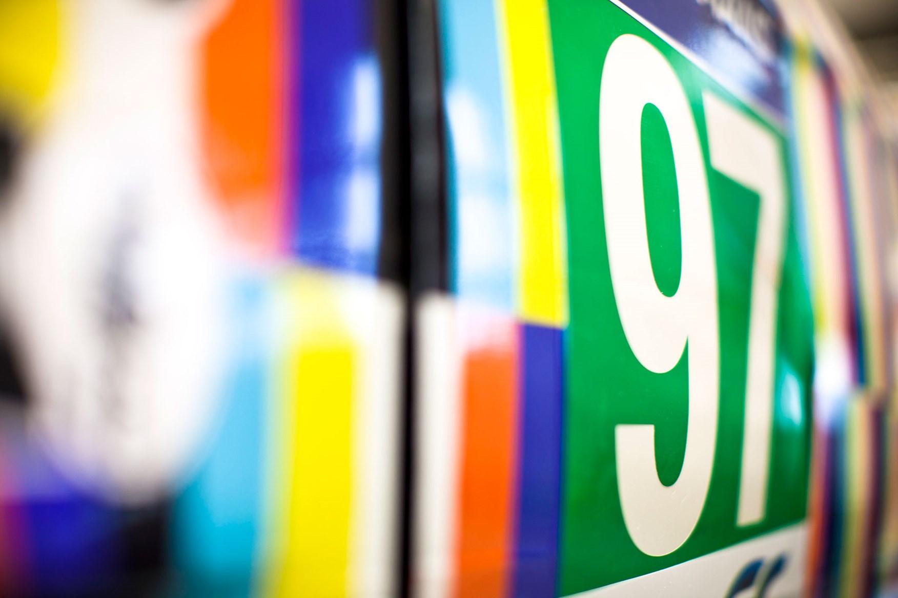 ... Geometric Patterns, Bright Colours For Vantage Art Car