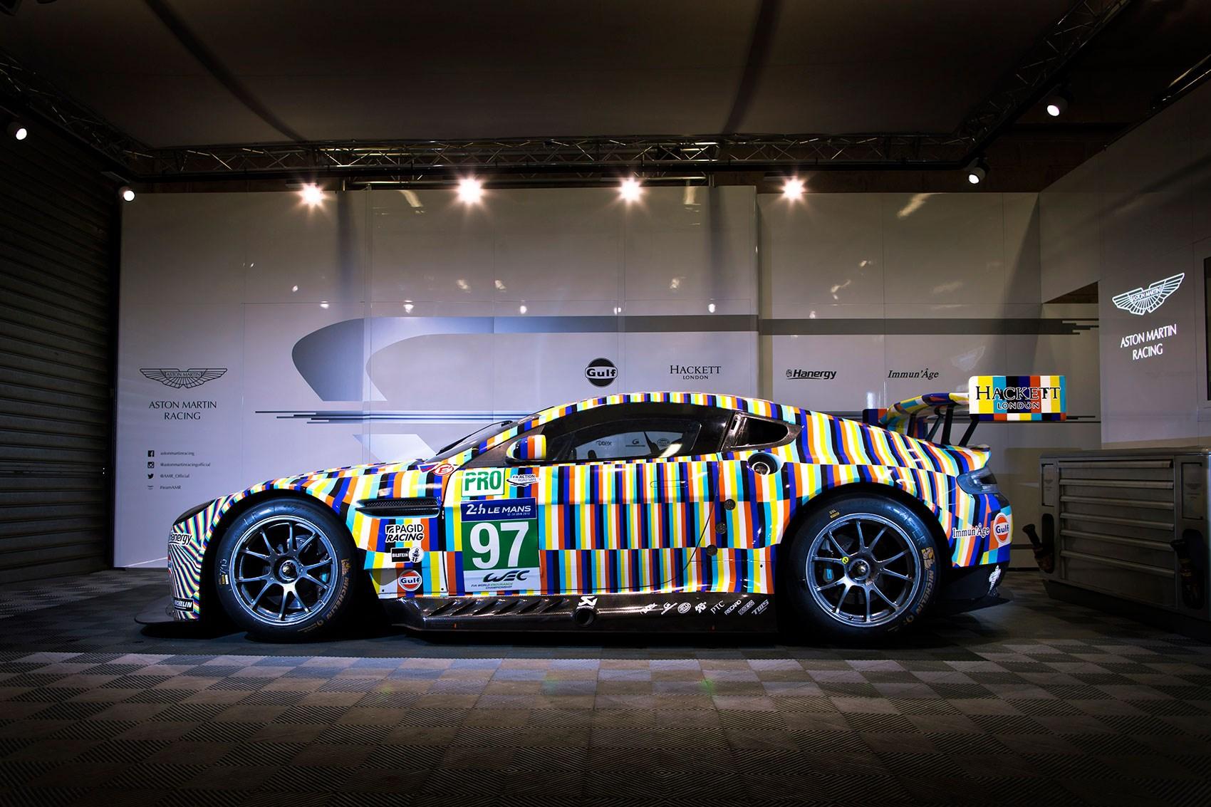 Charming The Tobias Rehberger Designed Aston Martin Art Car ...
