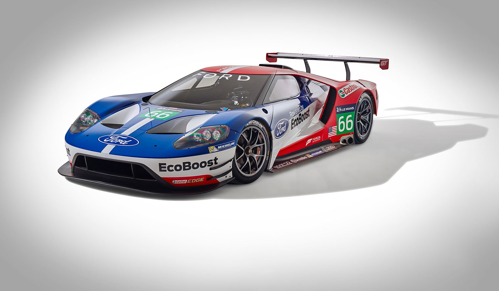 The First Official Picture Of The Ford Gt Endurance Race Car