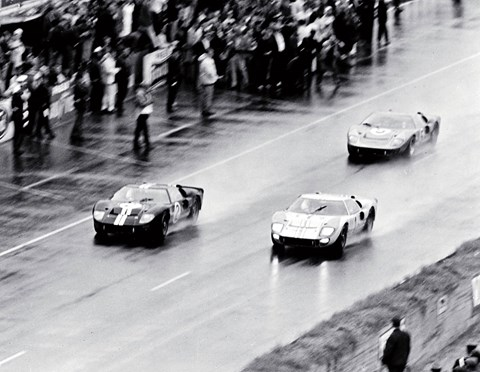 Ford GT40s put Ferrari to the sword with historic 1-2-3 at Le Mans in 1966