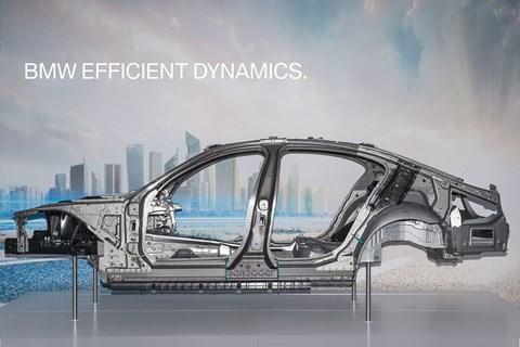A multi-matrix structure blends aluminium, steel and CFRP