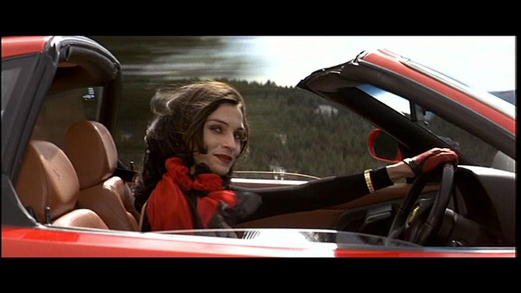 Ferrari 355 in Goldeneye. Top wheels, madam!