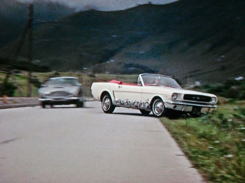 Ford Mustang in Goldfinger