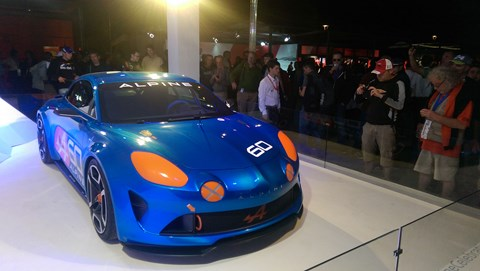 Alpine Celebration at Le Mans 2015