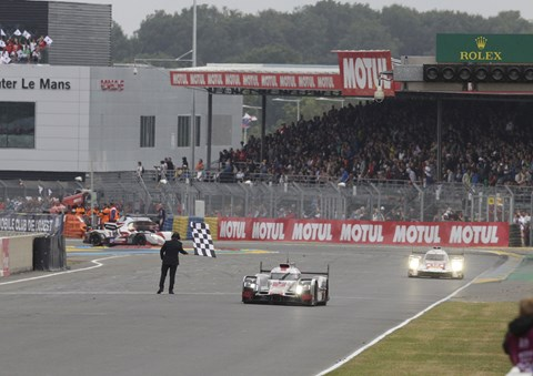 Audi pick up third place at Le Mans 2015