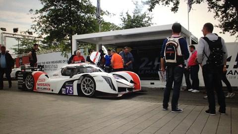 Ginetta LMP3 car